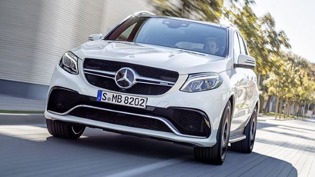 Mercedes Reveal the Brand New GLE