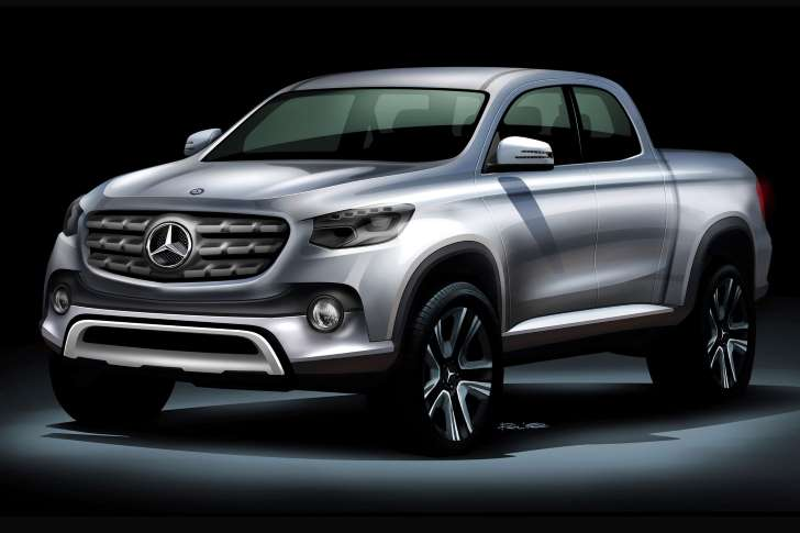 Mercedes Set to Launch Pickup?