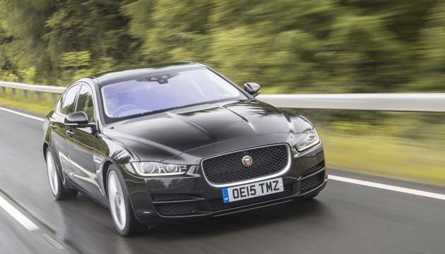 next green car executive winner jaguar xe
