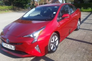all new toyota prius review front