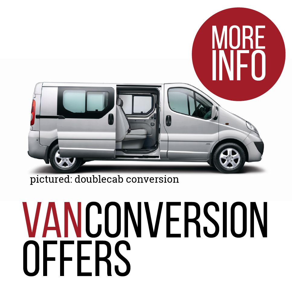 glassrack van leasing