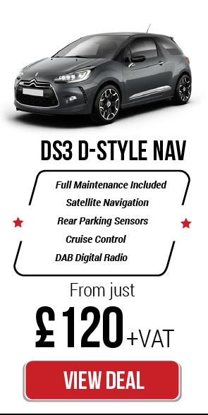 Car Leasing Deals Citroen DS3 D-Style Nav 1.6