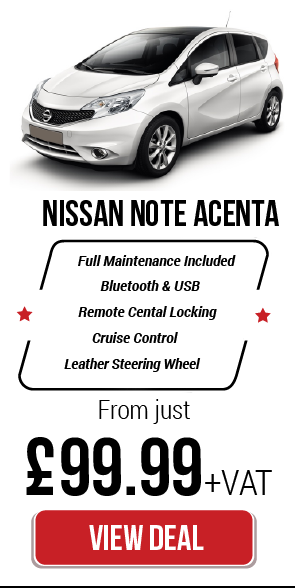 Car Leasing Nissan Note