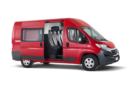 Ducato Crew/window Van Model Range