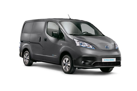 E-nv200 Van Model Range