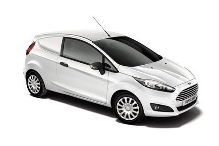 Fiesta Van Model Range