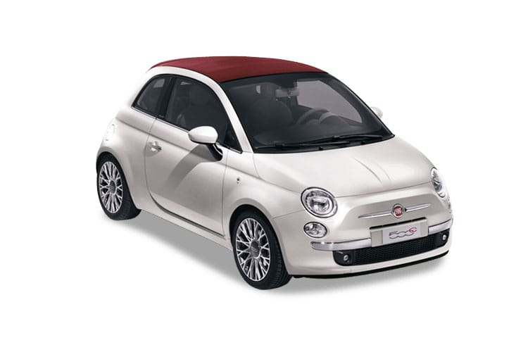 Fiat 500 Convertible Lease car