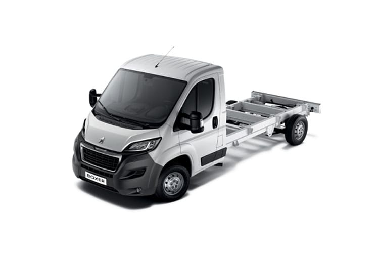 Boxer Chassis Cab Models