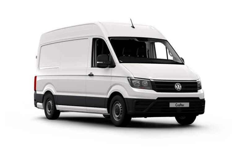 Vw Crafter Van Model Range
