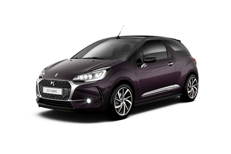 Ds 3 2dr Cabrio Model Range