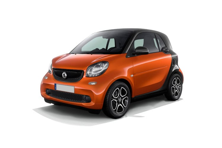 Pre-current Fortwo Coupe Model Range