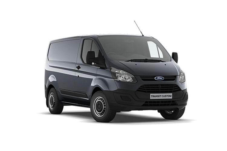 Transit Custom Van Model Range
