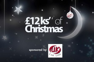 Win £1000 daily with Rock FM & UK Carline's 12Ks of Christmas competition