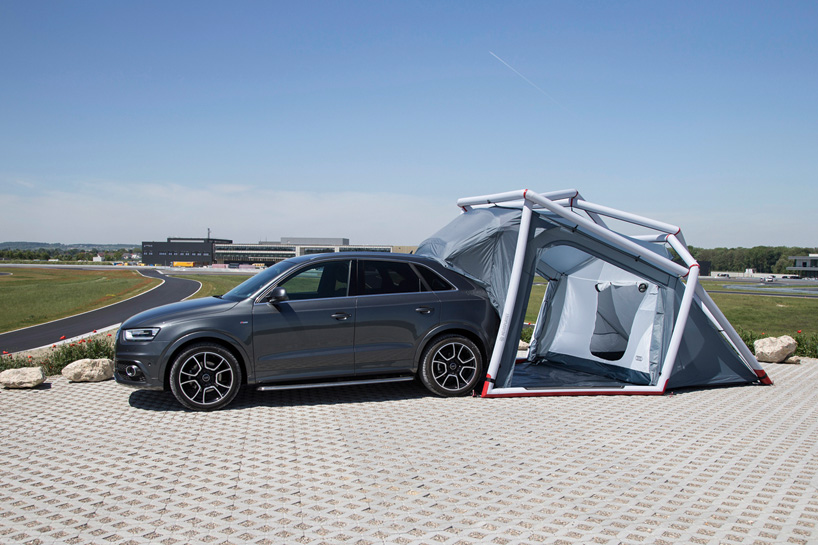 Audi Tent