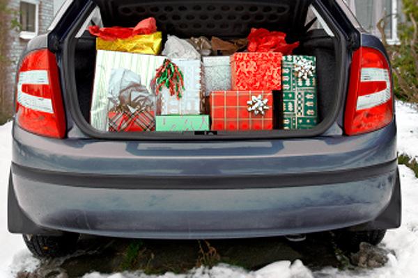 Christmas Gifts Car