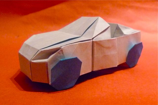 How To Make A Cardboard Car That You Can Drive