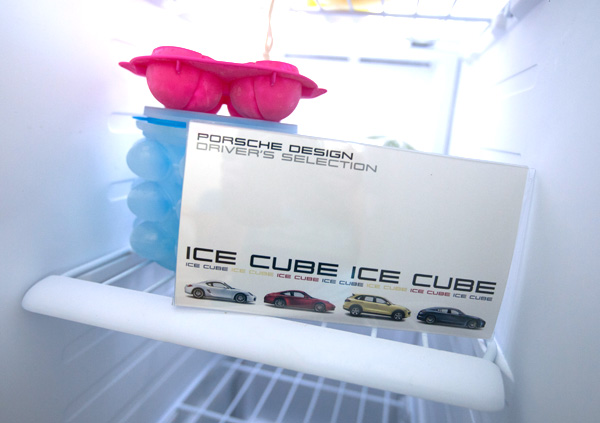 christmas gifts for car lovers porsche ice cube tray