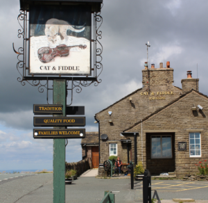The Cat and Fiddle and The Snake Pass Buxton
