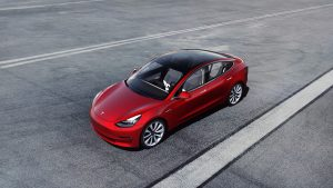 Tesla Model 3 Electric Vehicle Leasing