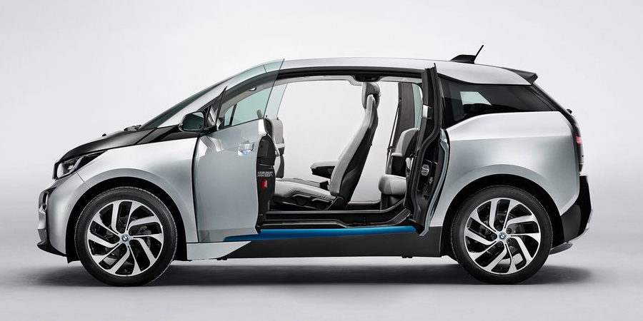 bmw i3 lease deals side view