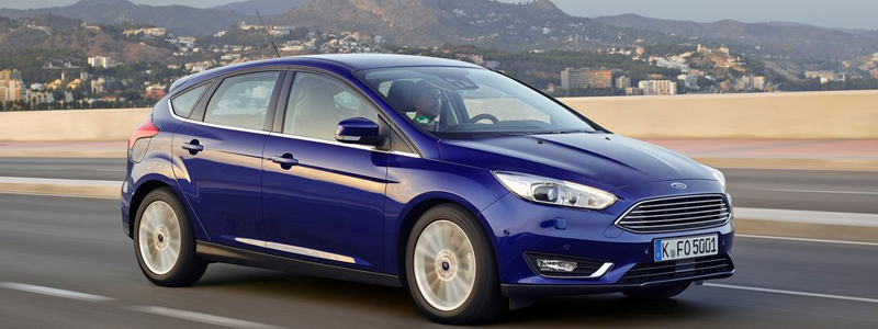 ford focus in deep impact blue