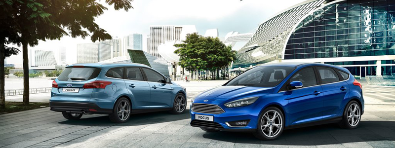 ford focus estate and hatchback