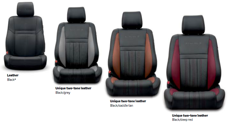 toyota hilux x leasing leather options