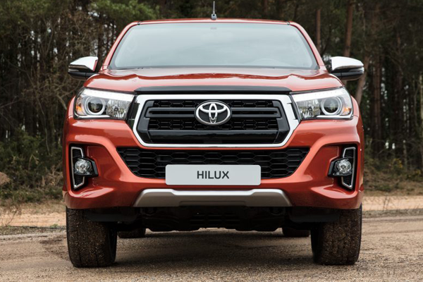 toyota hilux invincible x front profile