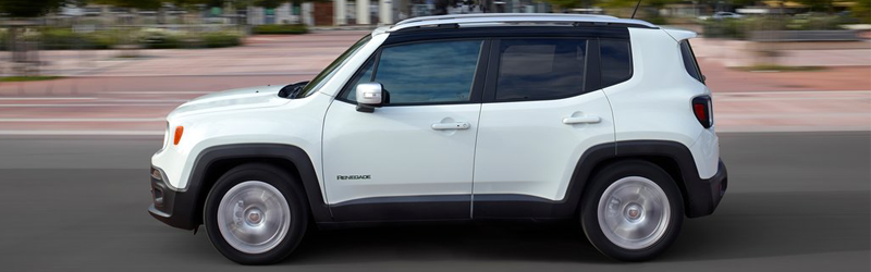 jeep renegade side