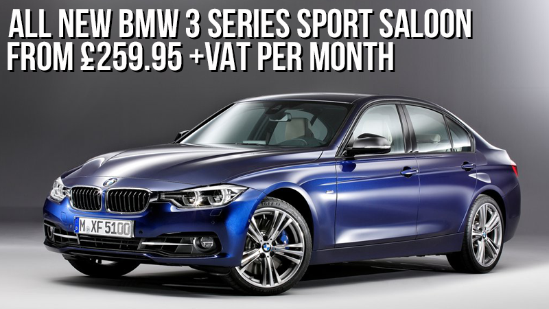 all new bmw 3 series sport saloon leasing