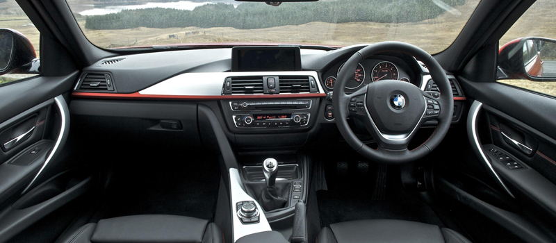 new bmw 3 series sport interior