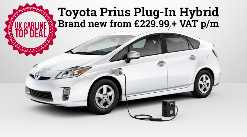 toyota prius plug in car leasing with uk carline