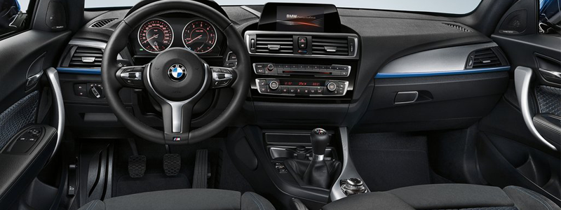 new bmw 1 series leasing interior
